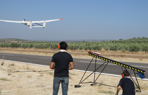 CATEC and ATLAS, the best service for flights and tests with aircraft and unmanned systems