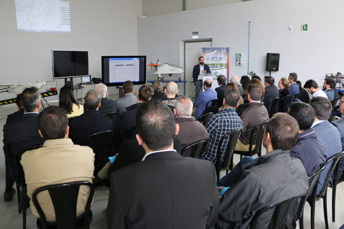The ATLAS Center hosts a conference of flights with UAS for its use in fire-fighting operations and transportation of medicines