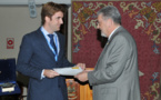 """Our Center received the """"Antonio Torres"""" Award from the IV National Congress of R&D in Defense and Security"""