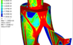 Topology optimization for weight reduction in aerospace components and structures