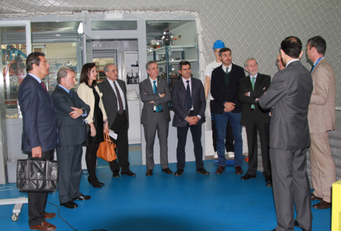 The Andalusian Association of Refrigeration and Air Conditioning visits CATEC to know latest developments on Industry 4.0