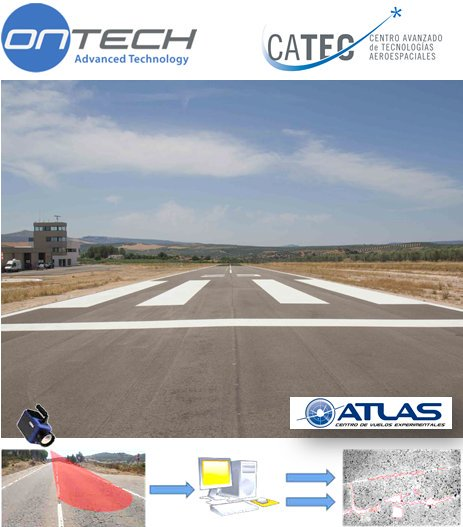 CATEC collaborates with the company ONTECH for the development of new solutions for pavement inspections at airports