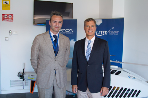 Alan Krueger, advisor to former President Obama, visits CATEC's facilities