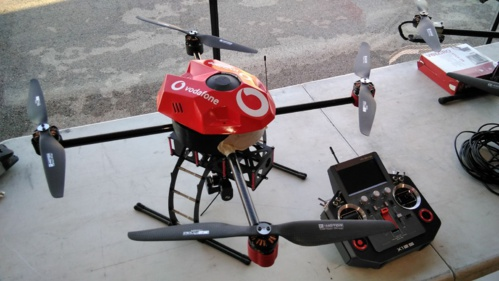 CATEC collaborates with Vodafone in developing new mobility technologies by using drones