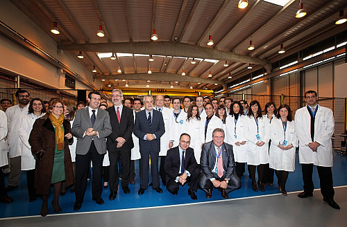Great business and institutional representation at oficial inauguration of our facilities