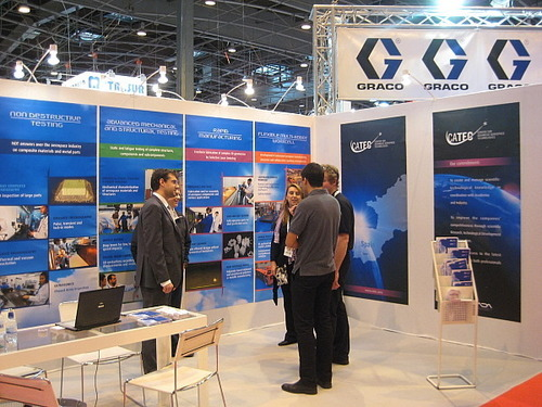 CATEC shows its services and technologies at JEC Composites 2011