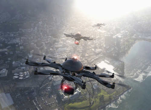 The SAFEDRONE European project is launched for the integration of drones in the future U-Space and facilitate their flight in cities and rural areas