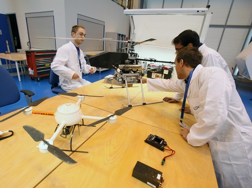A unique UAV's platform for the development of new applications in military and civil aviation