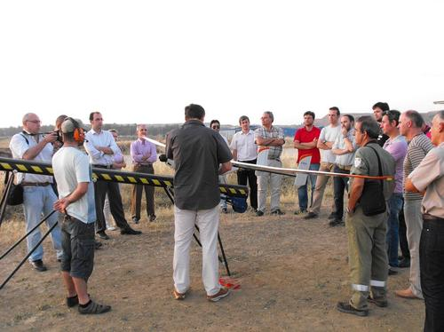 New Milestone in the development of unmanned aerial vehicles thanks to the first night flight of an Andalusian UAV