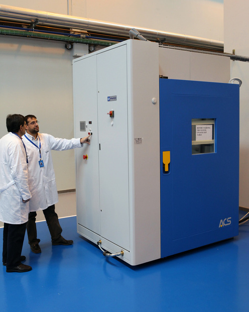 Outstanding technological equipment for the development of highly accelerated live tests in aeronautical materials