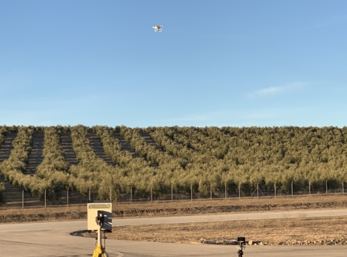 ATLAS hosts the first aerial demonstration in Spain of an anti-drone security system to detect and neutralize danger threats