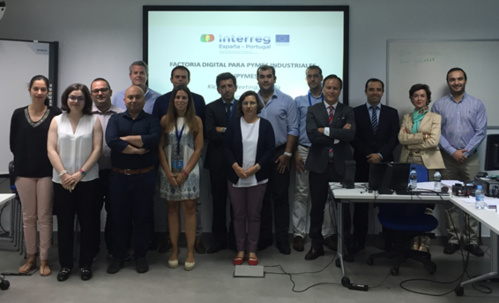 Kick-off Meeting of the European project INDUPYMES 4.0