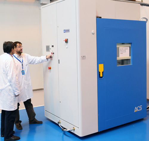CATEC offers the best technological service for taking accelerated life testing and detecting failures in components