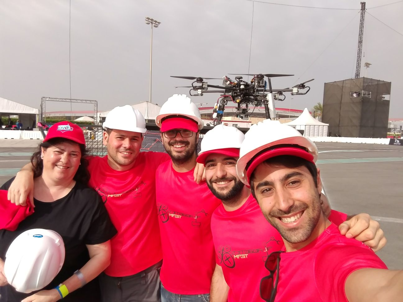 "The ""AL-ROBOTICS"" team, led by CATEC, successfully completes its participation in the MBZIRC competition, the largest one in robotics and drones worldwide"