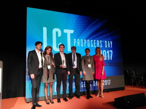 CATEC won the prestigious 2017 Innovation Radar Prize, an initiative promoted by the European Commission, for its pioneering technology with drones for industrial inspections by contact