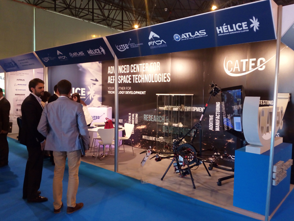 Successful participation of CATEC in a new edition of the ADM Sevilla international meeting