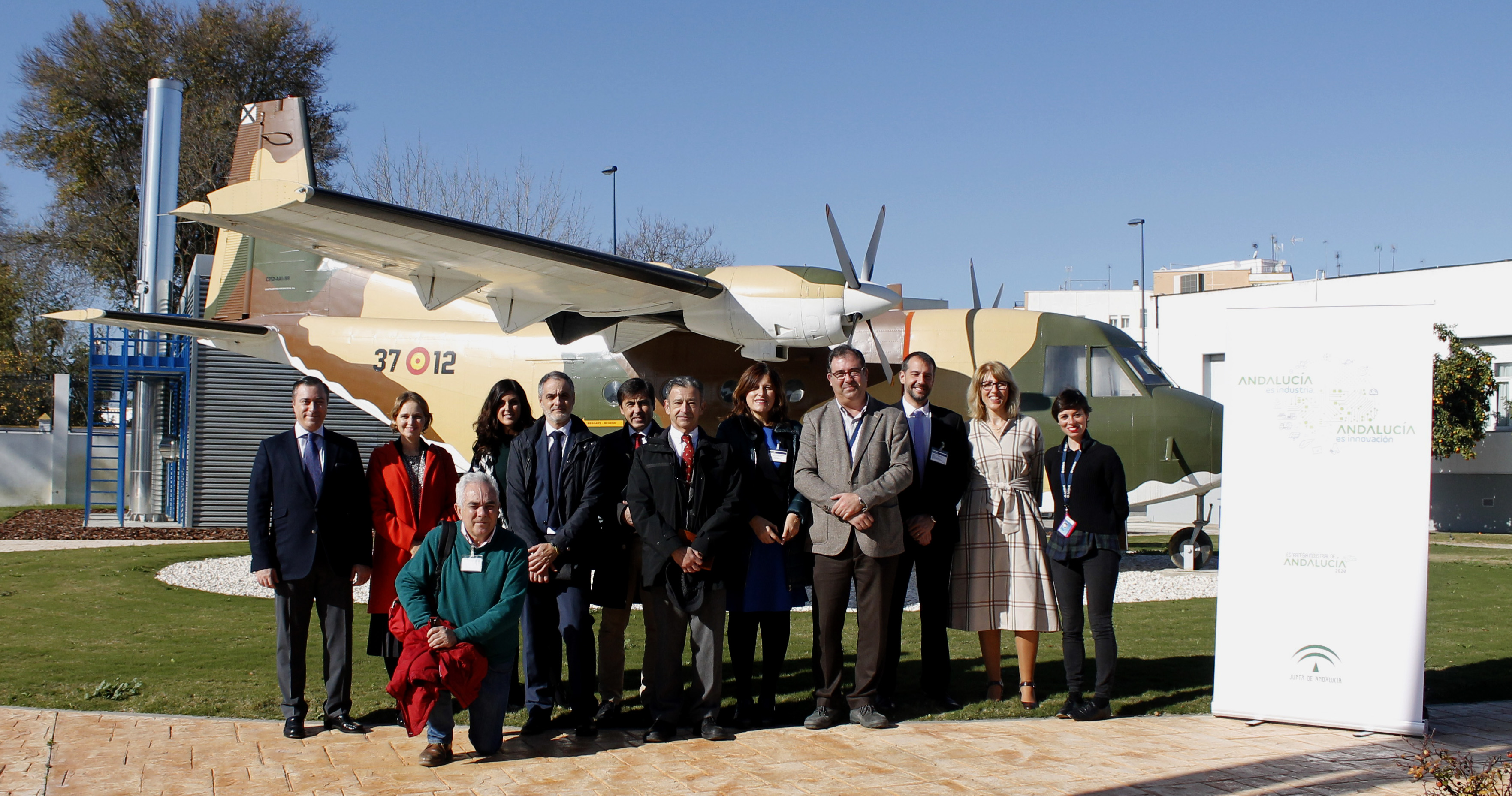 Institutions and companies of the aerospace sector meet in Seville to advance a strategy to boost the space industry