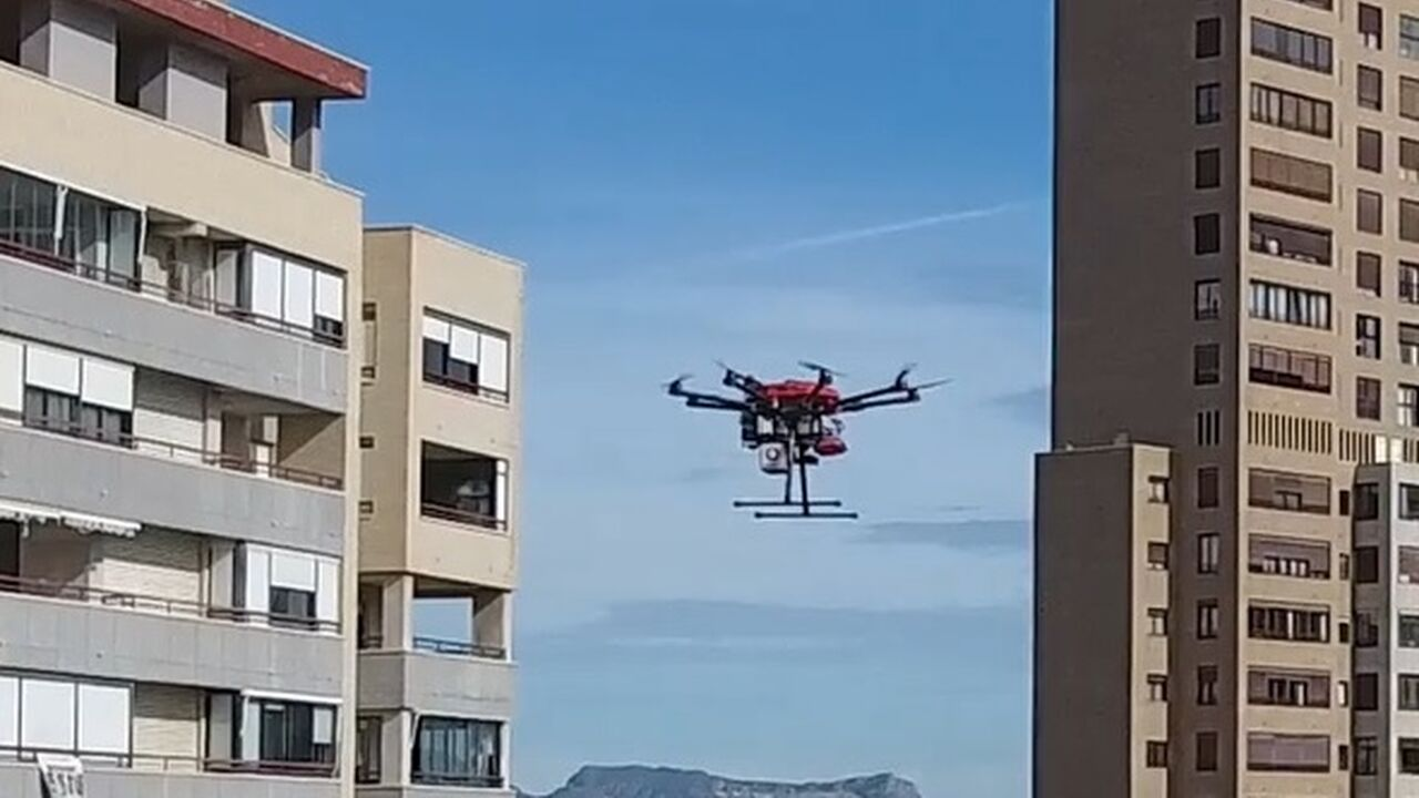 The world's first 5G network-controlled, beyond-line-of-sight drone flight in a real urban environment, counts on CATEC's technology