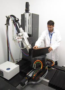 NDT for characterizing components and aerospace materials by X-ray computed tomography