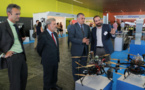 A day of flights at the ATLAS Center closes the UNVEX ECO-AGRO Congress on the application of drones to the sector of agriculture and the environment