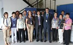 CATEC shows its facilities and technological capacities to a delegation of the Central Party School of China
