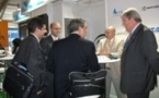 The Centre presented its technological services at Farnborough 2012, one of the prime international airshows