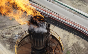 The first industrial inspection in a Spanish refinery through the use of an unmanned aircraft