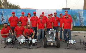 """The """"AL-ROBOTICS"""" team, led by CATEC, successfully completes its participation in the MBZIRC competition, the largest one in robotics and drones worldwide"""