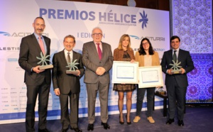 CATEC receives the award of the I Edition of the HELICE Awards for its leadership in the innovation of the Andalusian aerospace cluster
