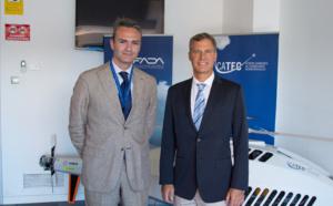 Alan Krueger, advisor to former President Obama, visits CATEC's facilities