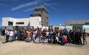 The Aeroemprende program brings the opportunities of the aerospace sector to young students from Jaen and Sevilla