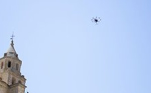 ATLAS, scenario of tests for the standardization of drones with European GNSS systems