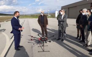 The Regional Minister of Finance, Juan Bravo, visits the ATLAS Center facilities