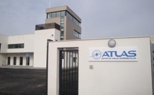 The ATLAS Center hosts a drill to test 5G network in the rescue of people using drones