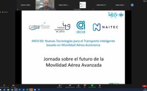 iMOV3D initiative presents the latest advances in the development of advanced air mobility solutions