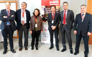 """CATEC presents on a conference their technologies """"Factory of the Future"""" to improve manufacturing processes in aerospace"""